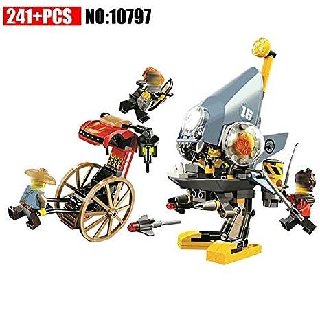 Amazon.com: 10797 Ninja Piranha Attack Building Blocks Sets ...