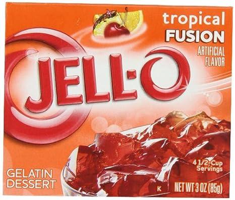 jello recept gelatinpulver