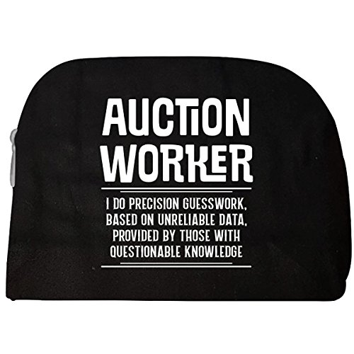 Auction Worker I Do Precision Guesswork - Cosmetic Case