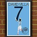 David Villa Poster - New York City FC Art