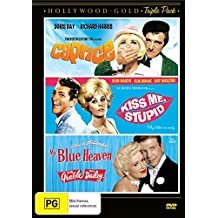 Caprice / Kiss Me, Stupid / My Blue Heaven (3DVD) by Doris Day Richard Harris. Dean Martin Kim Novak Betty Grable Dan Dailey