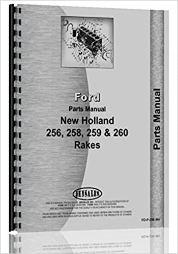 Brilliant New Holland 256 Rake Parts Manual New Holland Manuals Wiring Cloud Intapioscosaoduqqnet