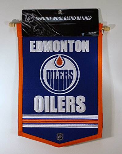Winning Streak Sports Traditions Oilers Banner , Blue