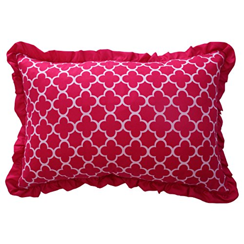 WAVERLY Kids Reverie Decorative Pillow, Pink, 12 x 18 by WAVERLY