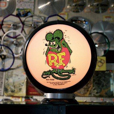 ガスランプ Rat Fink ムーンアイズ ラットフィンク ST ガスポンプ ランプ GASPUMP 店舗装飾 ガレージ B077BBMFJJ 27000