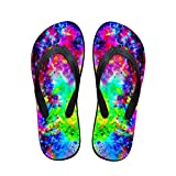 FOR U DESIGNS Cool Summer Sandals for Men Boys Beach Style Wear-Resistant Flip Flops US 12