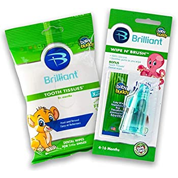 Amazon Com Spiffies Tooth Wipes Multipack Apple And