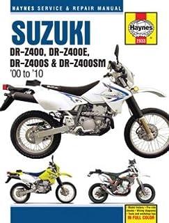 suzuki dr z400 dr z400e dr z400s dr z400sm 00 10 haynes rh amazon com 2012 Suzuki DRZ400S Oregon 2012 Suzuki Dr 650 Dual Sport