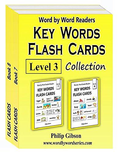 Iii Flash Card (KEY WORDS Flash Cards: Level 3 (Key Words Flash Card Collections))