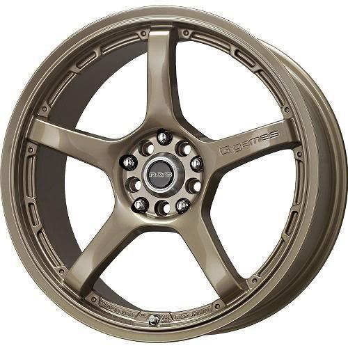 18x7.5 Rays G-Games et42 77w wolf Bronze 4x100 4x114.3 (set of 4 wheels) rims (Rays Rims)