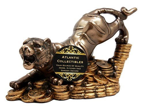 (Feng Shui White Tiger Of The West Power & Protection Decorative Talisman Figurine)