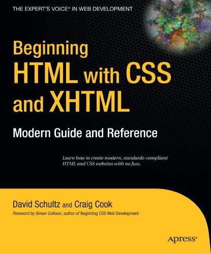 Beginning HTML with CSS and XHTML: Modern Guide and Reference (Beginning: from Novice to Professional) by Brand: Apress
