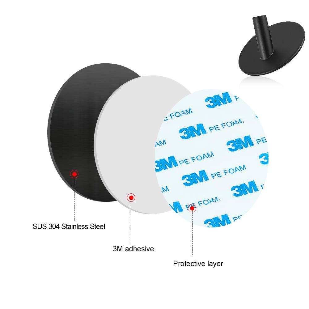 Amazon.com: Yakaon - Ganchos adhesivos resistentes, paquete ...