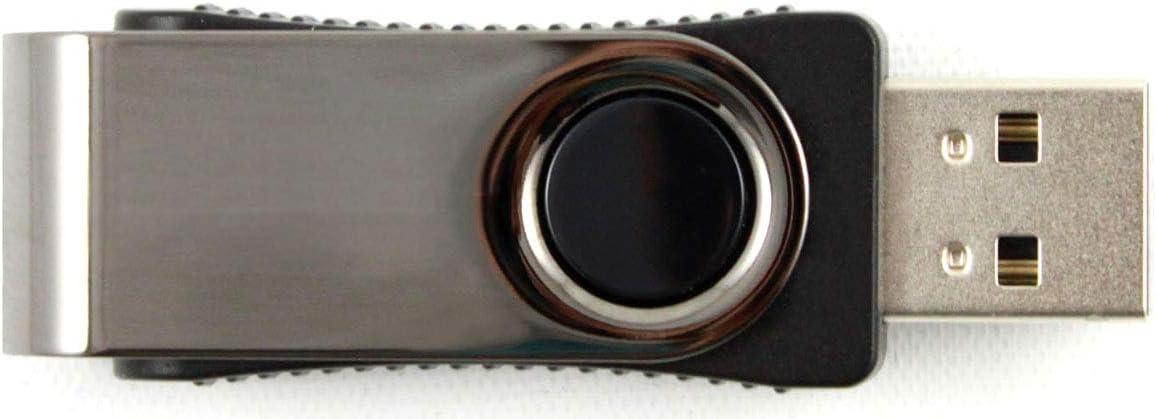 Qty 20 Flash Direct Black Swivel with LED 4GB USB Flash Drive