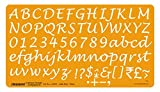 Linograph Lettering Template Calligraphy- III