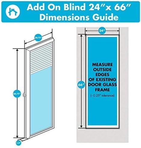 ODL Add On Blinds for Raised Frame Doors 24 x 66