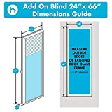 ODL Add On Blinds for Raised Frame Doors - Outer