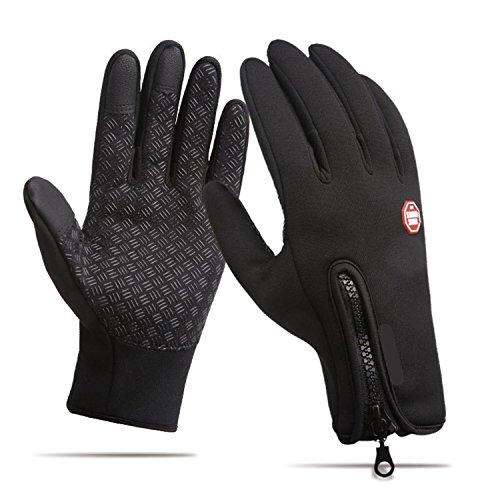 Winter gloves,Anqier Windproof Warm Touchscreen Gloves Outdoor Cycling Runnig Climbing Gloves For Men & Women