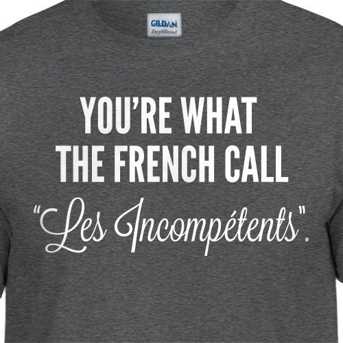 Funny Home Alone T-Shirt You're What The French Call Les Incompetents Christmas Sweater Retro Movie