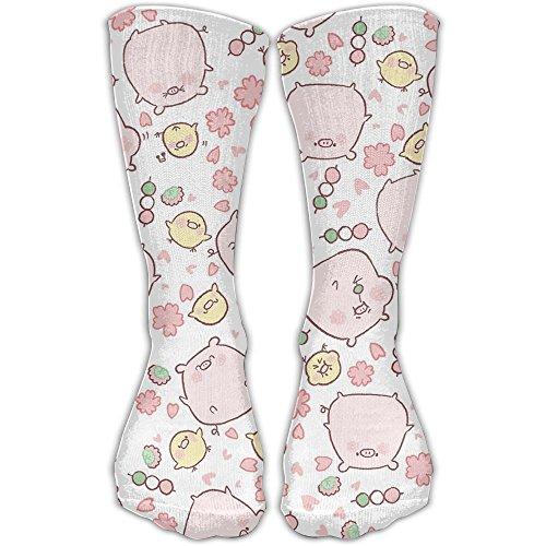 Pig Piggy Sport Tube Stockings Women & Men Knee High Long Soccer Socks