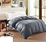 BEIZLSS Modern minimalist style solid color, 100% cotton duvet cover-M 250x250cm(98x98cm)