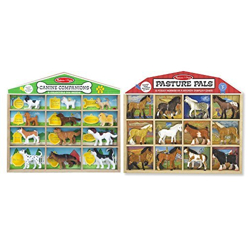 Melissa & Doug Canine Companions with Pasture -