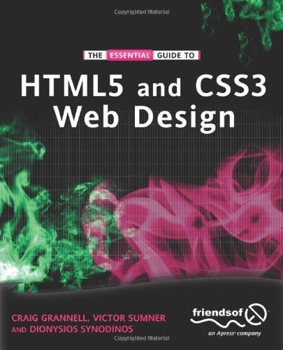 [PDF] The Essential Guide to HTML5 and CSS3 Web Design Free Download | Publisher : friendsofED | Category : Computers & Internet | ISBN 10 : 1430237864 | ISBN 13 : 9781430237860