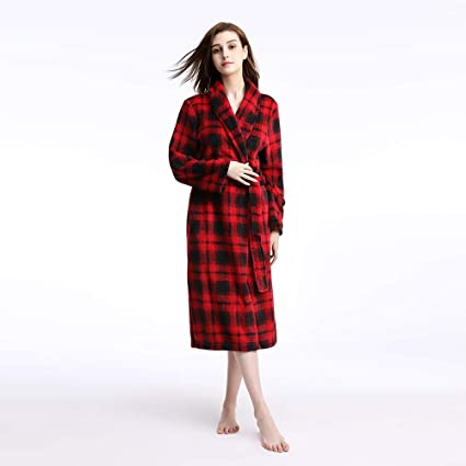 VIWIV Señoras Albornoz Pijamas Modelos De Otoño E Invierno Engrosamiento De Franela Coral Fleece Camisón Ropa
