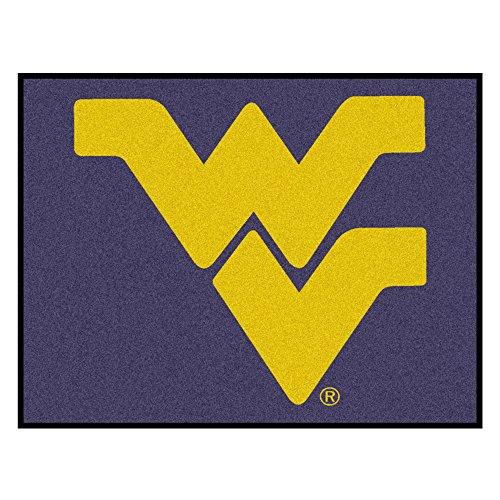 West Virginia Mountaineers Tailgater Mat - NCAA West Virginia University Mountaineers Tailgater Mat Rectangular Outdoor Area Rug