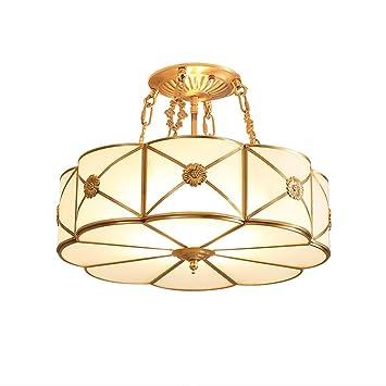 SOARLL Lámpara de Techo Araña Tipo de Flor Europea Todas Las ...