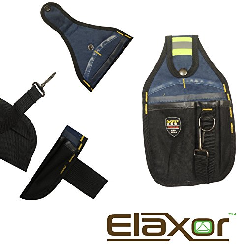 [Elaxor™ Professional Tool Bag Belt, Electrical Maintenance Pouch, Utility Pouch, Technician's] (Tool Belt Costume)