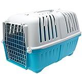 Pratiko MP011402 Transportadora de plastico para perro, colores Surtidos