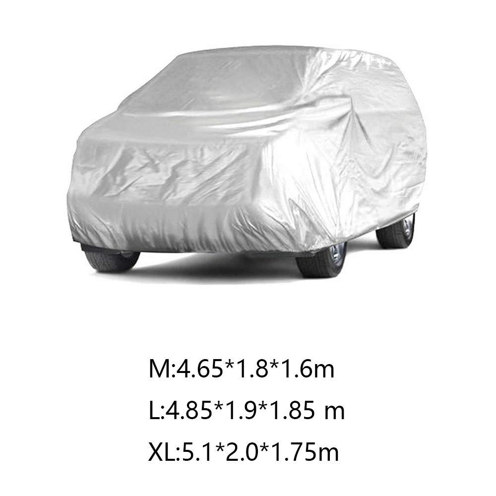 RASHION Waterproof Full Car Protective Cover For SUV Van Truck Outdoor Dust Sun UV Rain Snow M-XL