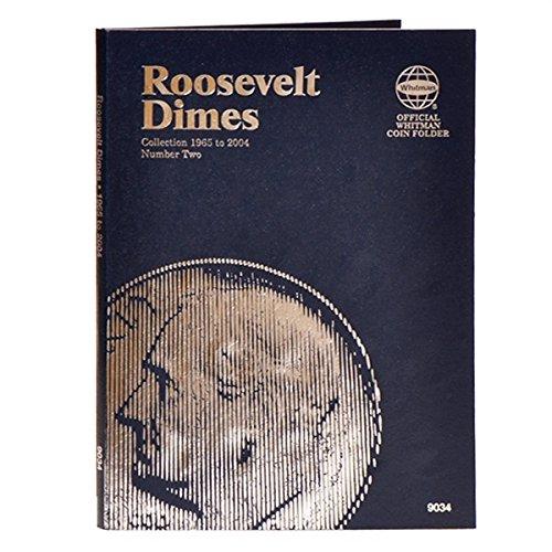 1 – Roosevelt Dime….Starting 1965 (Whitman Folder) – – –