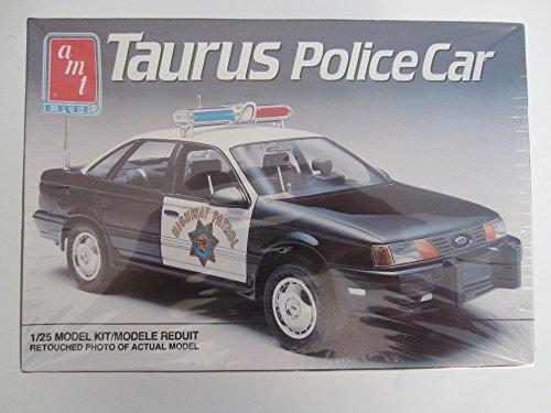 1990 Ford Taurus 4 door Police car (1/25)