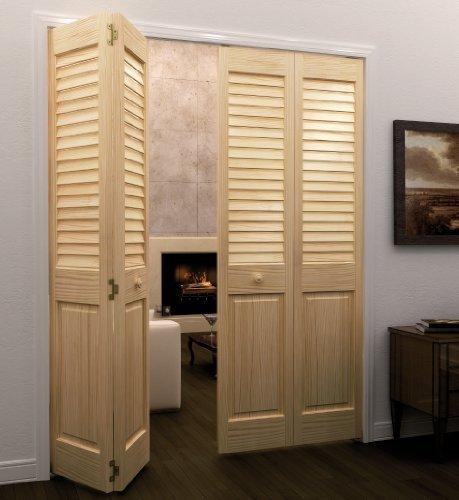 Bi-fold Door, Louver Panel Plantation - Solid Louvered Door