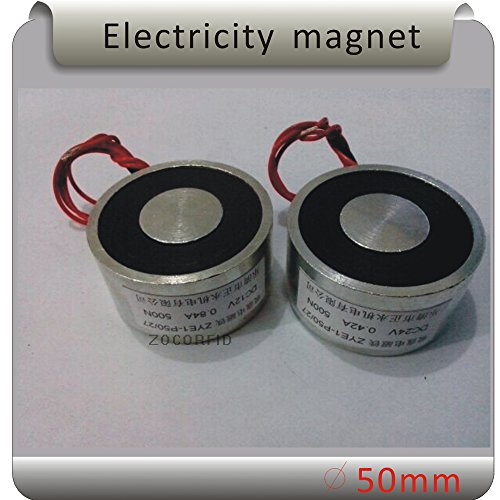 ZYE1-P50/27 DC12V 50KG(500N) Holding Force Electromagnet /Magnetic suction by ZOCORFID