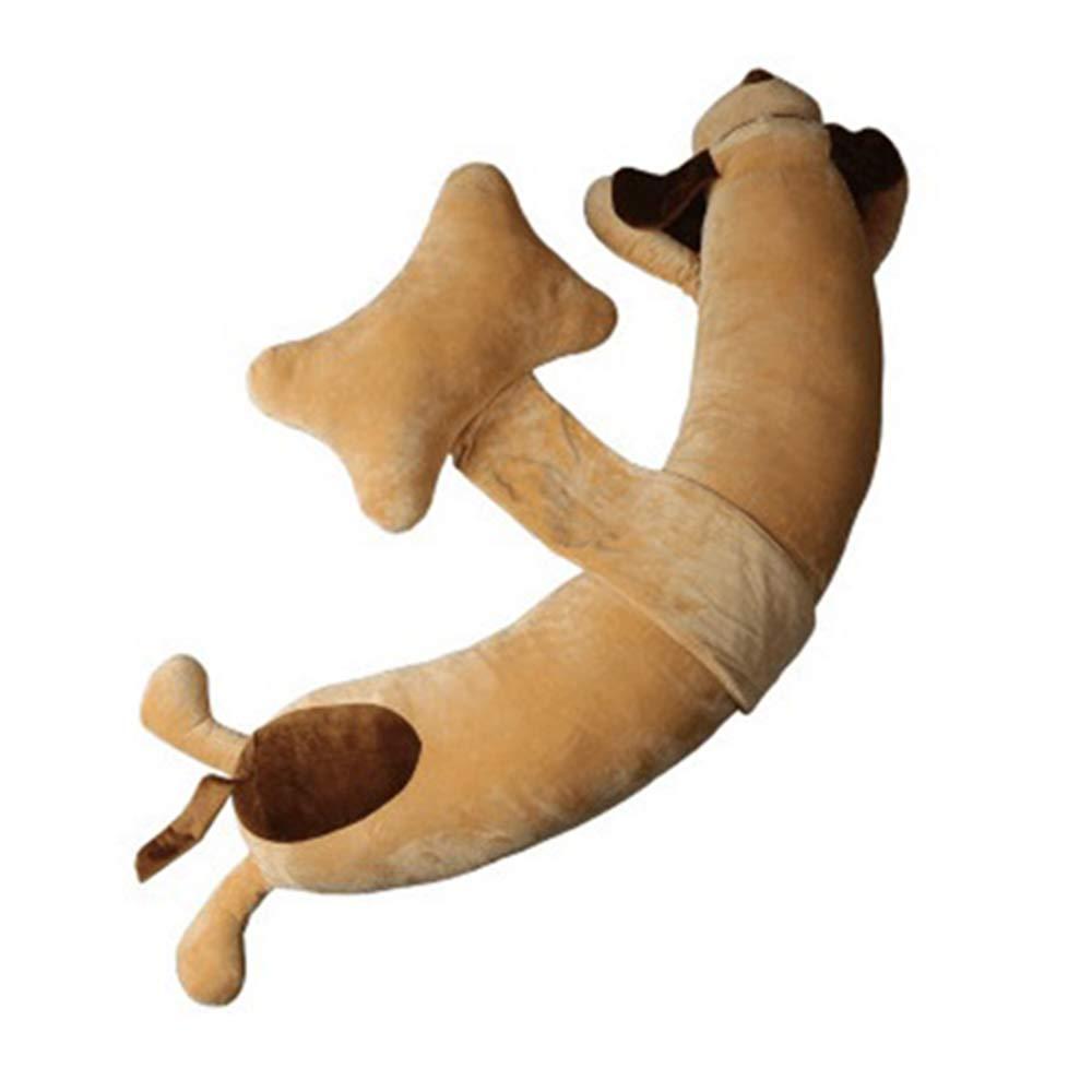 IQDQ Cartoon Hund Schwangere Frau Kissen Taille Seite Schlafkissen Schlafkissen H Typ Multifunktionale Schlaf Seite Kissen