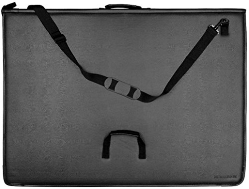 A2 Artway Premium Presentation Portfolio with 10 Sleeves Waterproof Padded Cover /& Shoulder Strap