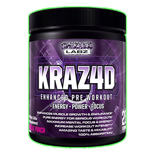 Best Pre Workout KRAZ4D, Tropi...