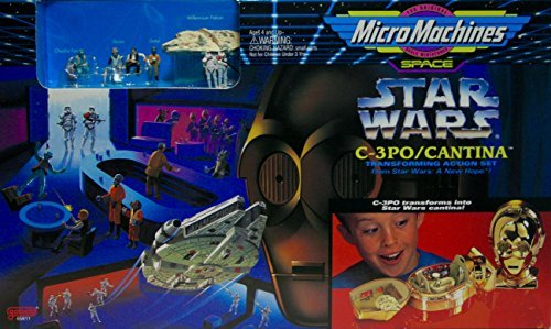 (C-3PO Cantina Micro Machines Playset)