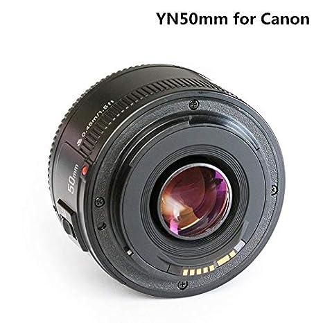 Wolfsay Lente Gran Angular YN50mm F1.8 Lente de cámara para Nikon ...