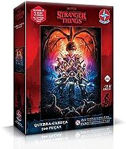 Quebra-cabeça, Stranger Things T. 1, 500 peças, Estrela - Exclusivo Amazon