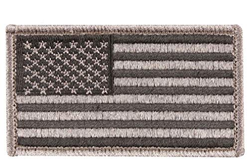 Military USA Hook Loop American Flag Uniform (Signal Flag Hook)