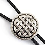 BYM Original Vintage Celtic Cross Knot Necklace Bolo Tie
