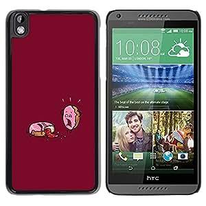 Caucho caso de Shell duro de la cubierta de accesorios de protección BY RAYDREAMMM - HTC DESIRE 816 - Funny Motivational Sugar Rush
