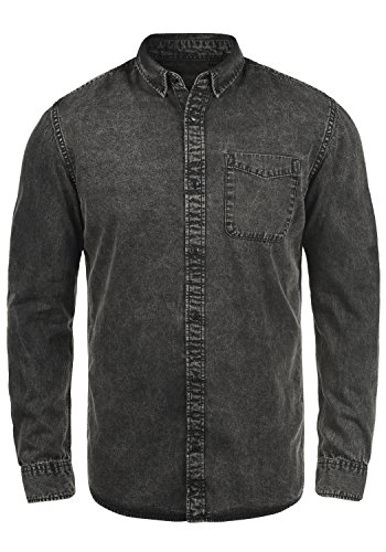 Denim Di Camicia Jeans Cotone Light Grey 100 Da Uomo In Produkt Pepito IBgwqEZ