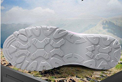Scarpe aperta casual trekking Scarpe Sport Praticare Traspirabilità montagna corsa Indossabile Scarpe Viola da all'aria da donna da da Antiscivolo Scarpe xwaqS0ZI