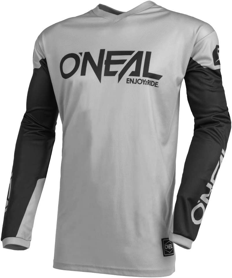 ONeal Element Jersey Threat Mens Gray//Black, S