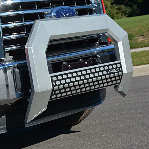 Bull Bar Road Aries Off - ARIES 2152000 AdvantEDGE Chrome Aluminum Truck Bull Bar 5-1/2